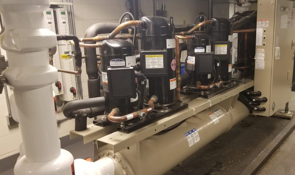 Heat Pump Chiller at Haliburton Hospital